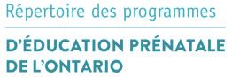 programmes d'éducation prénatale »