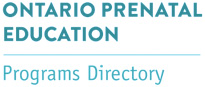 Ontario Prenatal Education logo