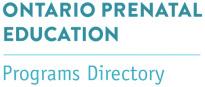 Ontario Prenatal Education logo